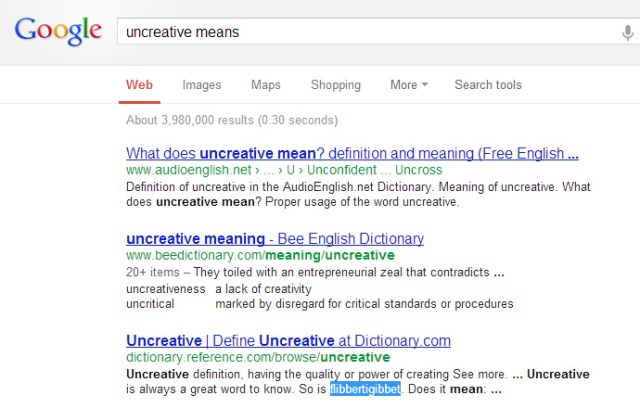 uncreativegoogle